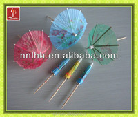Wood party cocktail decoration flag toothpicks Christmas
