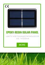 epoxy resin mini PV solar panel,module,parts