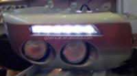 12V Voltage and CAR LED DRL light LED Emergency Vehicle DRL light for Toyota FJ Cruiser (2011-2013) led drl