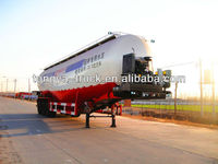 China manufacturer Tongya widely used bulk cement trailer new