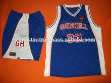 Slam estilo uniformes de baloncesto/de la escuela de baloncesto ropa uniformes
