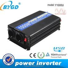 Power Inverter high frequency 1000W power inverter dc 12v ac 220v Y1000U