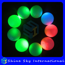 Popular Best-Selling Custom Made Colorful Led Golf Ball