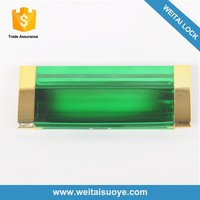 Practical and durable colorful plastic handle for clothes cabinet