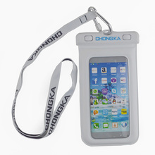 High Quality Popular PVC Mobile Phone Waterproof Case With Strap