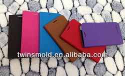 Leather book case for cell phone