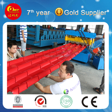 Good Price Galvanized Sheet Metal Roof Tile/Iron Sheet Roll Forming Machine Manufacturing Line