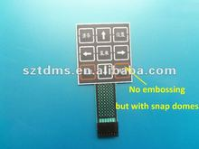 Overlay Keypad with ESD Shielding Layer