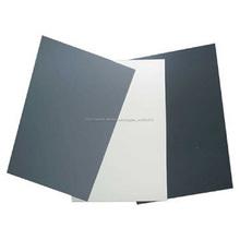Buena mechnical rendimiento ABS lámina de plástico, rígida lámina de plástico