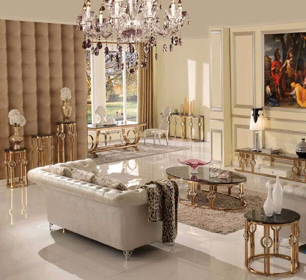 Luxury Living Room Furniture Rose Gold Marble Coffee Table C50 Buy Rose Gold Coffee Table