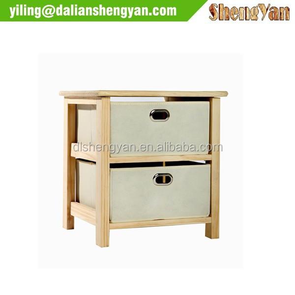 Wood Shelf Units Wood Storage Shelf Unit With