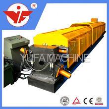 export best quality of 304 stainless steel sheet ridge cap tile rolling machine building ridge edge machine