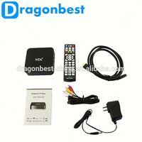 New Design Black Box Internet Tv Receiver Mx Amlogic 8726 Dual Core 1G 8G 1.5Ghz Google Android Tv Box