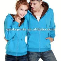 Customized fashion hooded sweatshirt with front pocket