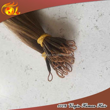 New type korea hair extension one cotton thread and one strand hair Extension