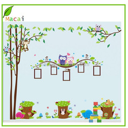 rabbit owl tree photo framewall paper price