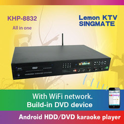 All-in-one Android Lemon KTV product with HDMI 1080P ,Select songs via iPhone/Android phone ,Insert COIN
