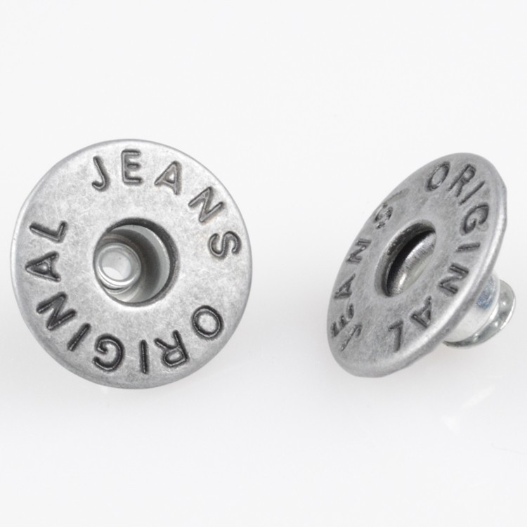 Metal Jeans Buttons Metal Jean Button For