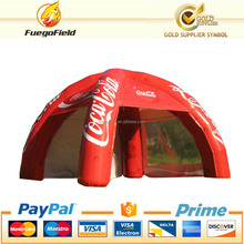 white marquee tent/bubble tent/legs spider dome for advertising