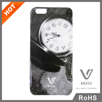 Jules. V promotional materials 2015 IMD antique back cover case for IPhone 6s