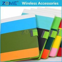 color matching leather case colorful printing leather case