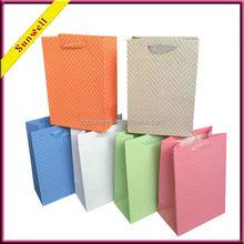 Free samples hand made paper bag packaging custom gift packging bag
