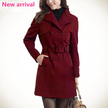 Wholesale Cheap Women and lady Cheap Full Length Leather Coats/ Fashion Long Sleeve Winter Overcoat Clothes