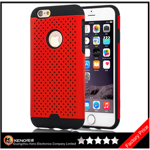 Keno Hybrid Anti Fall Phone Case for iPhone 6 Combo Shockproof Mobile Phone Armor Case Cover