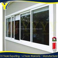 Australia Aluminium Winder Window / Double Glazed Sunroom Casement Windows