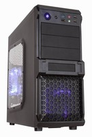 window side middle tower ATX computer case gaming design with chassis L430*W180*H430MM