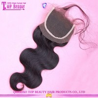 In stock best quality factory directly remy lace front closure with baby hair