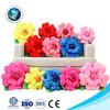 Meet En71 fashion valentine gift plush rose cute stuffed soft plush flower shaped pillow