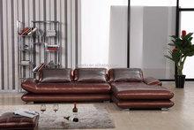 popular home sofa ,section sofa with leather sofa