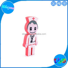 2.0 high speed 16gb flash memory usb pvc customized doctor surgeon usb flash drive