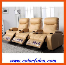Most Popular VIP Recliner Sofa/Home Recliner Sofa /Leather Recliner Sofa Pirce China LS607 With Cold Cup Holder And Massage