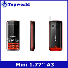 "small size GSM phone A3 1.77""QQVGA Spreadtrum S6531 Dual SIM card dual standby"