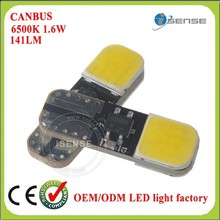 COB LED Panel High Power White Interior Map/Dome/Door Lights t10 5w5 bulbs led light with Eipstal Chip