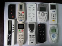 universal remote control for TV/air conditioner