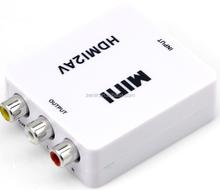 720P HDMI to AV HDMI to RCA HDMI to CVBS Converter