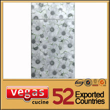 White and grey color kitchen cabinet door decorations