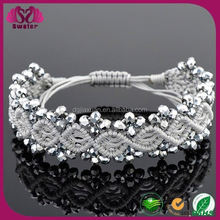 Hot New Products For 2015 Handmade Fashion Popular At High Quality Stainless Steel Magnetic Bracelet