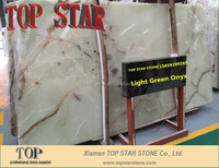 Good Translucent Green Onyx 2cm slabs
