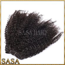 Unprocessed afro kinky human Hair wholesale brazilian hair extensions south africa