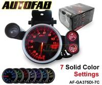 AUTOFAB - Racing Gauge 80mm Tachometer 11000rpm 7 Color DF12101 AF-GA375DI-7C