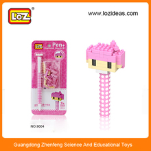 2014 loz diy building block writing pen creative toys for Christmas gift