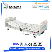 New products abs patient electric bed with adjustable headrest