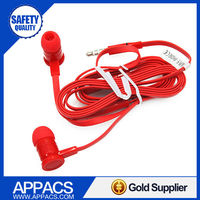 Hot sale super bass low price coloful silicone in ear mp3 earphone