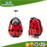 cartoon picture of trolley school bag kids luggage children suitcase