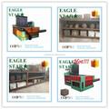 Best selling hidráulico metal chatarra de aluminio fábrica latas bramante