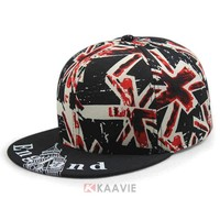 new trend Meek Era UK England flag snapback cap